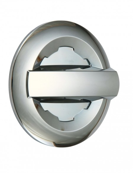 Chevrolet Silverado 2500 Chrome Gas Door Cover - 14-15 SILVERADO 1500 15 SILVERADO 2500/3500