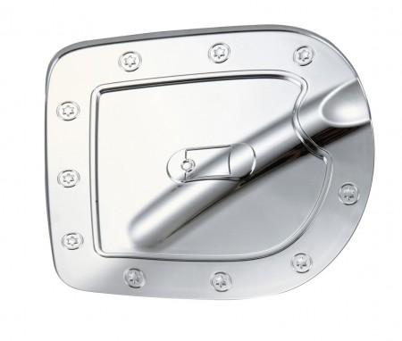 Nissan Frontier Chrome Gas Door Cover - 05-14 FRONTIER