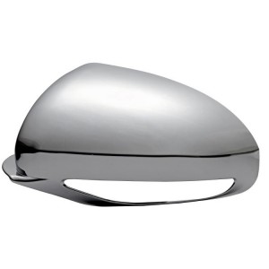 Buick Enclave Plastic Chrome Mirror Covers - 08-14 BUICK ENCLAVE W/ TURN SIGNAL