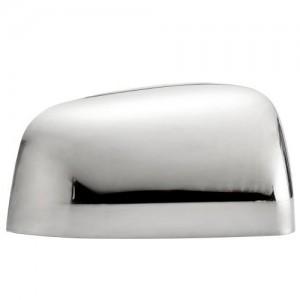 Dodge Durango Plastic Chrome Mirror Covers - 11-14 DODGE DURANGO