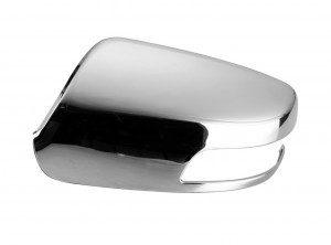 Kia Sorento Plastic Chrome Mirror Covers - 11-14 KIA SORENTO