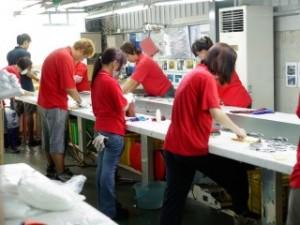 QC Area Working Scene(4)