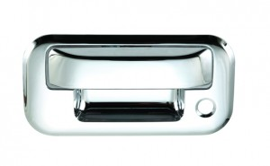 Ford F150 Chrome Tailgate Handle Covers - 04-14 FORD F150 / 08-14 FORD F250 / 07-10 FORD EXPLORER