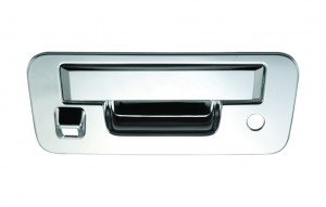 Nissan Titan Chrome Tailgate Handle Covers - 13-15 NISSAN TITAN