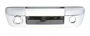 Dodge Ram Chrome Tailgate Handle Cover - 2013 DODGE RAM W / CAMERA HOLE
