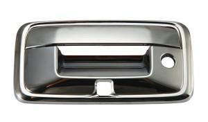 GMC Sierra Chrome Tailgate Handle Covers - 2014 CHEVROLT SILVERADO W/ CAMERA HOLE