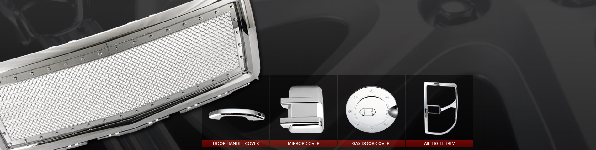 Professional Plastic Chrome Auto Accessory Manufacturer Welcome To Contact For New Mold Building