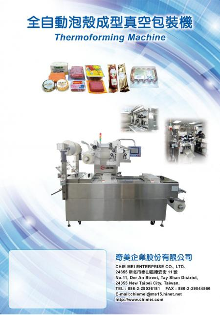 Thermoforming Machine P01