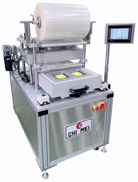 Machine d'emballage de peau sous vide semi-automatique
