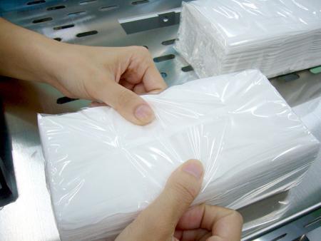 Papel de seda y papel Tiolet