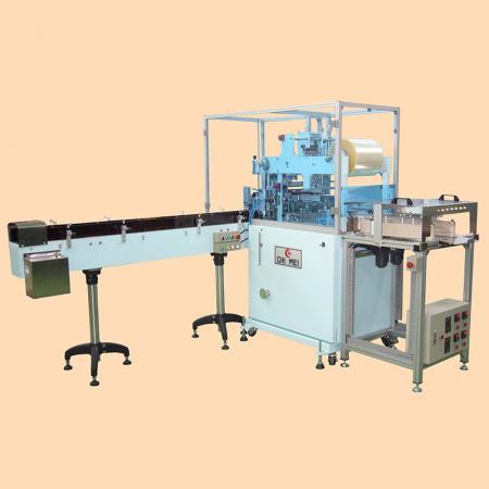 Machine de suremballage pour papier de soie