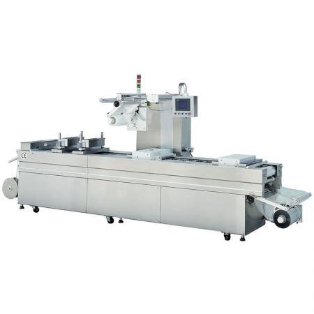 Machine de thermoformage pour aliments - Machine d'emballage sous vide automatique, machine d'emballage sous vide alimentaire, machine d'emballage sous vide, machine de thermoformage.