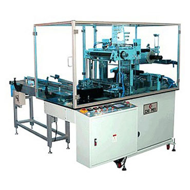 Automatic Overwrapping Machine (Serve-motor type) - over wrapping machine、overwrapping machine、cellophane machine、cigarette packing machine、Tobacco packing machine、box packing machine、perfume box packing machine、shrink packing machine.
