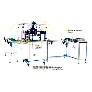 Stacker for Overwrapping Machine - Stacker、collating machine、collating system.