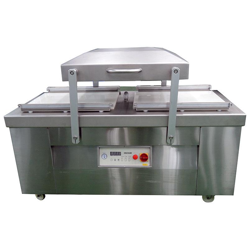 Máquina de envasado al vacío (tipo de cámara doble) - Máquina de envasado al vacío (tipo de cámara doble) .Máquina de envasado al vacío, máquina de sellado al vacío, máquina de envasado al vacío de alimentos.