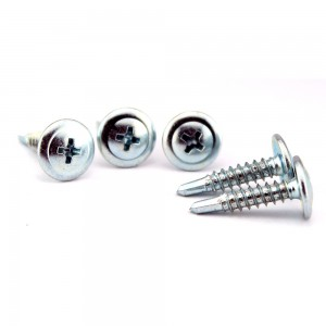 TRUSS / BUTTON HEAD - Button head self drilling screw