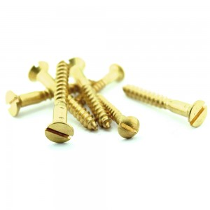 WOOD SCREW (COUNTER SUNK / OVAL / PAN HEAD)