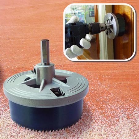 Woodworking Hole Saw - Hole Saw for Making Hole Drilling Jobs