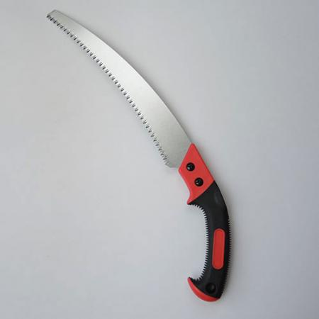 13inch (330mm) Curved Pruning Saw with Bi-Material Handle - Soteck Curved pruning saw with ergonomic handle