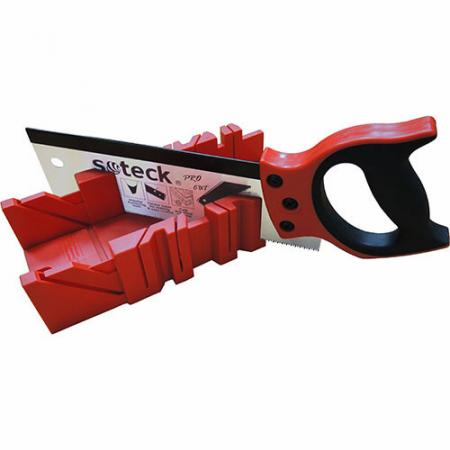 Tenon Saw with Miter Box - Soteck Tenon Saws work with PP miter box