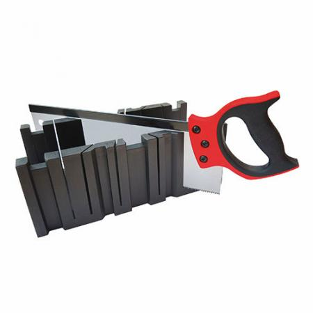 16inch (400mm) Tenon Saw with Miter Box - Tenon Saw with high-impact PP miter box
