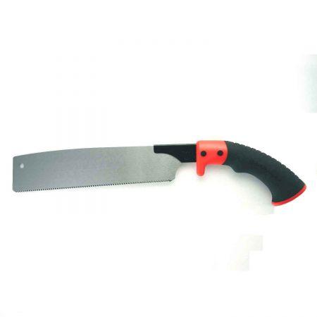 Serra de tração rápida de corte transversal de 10,5 polegadas (265 mm) - Dente tripla retificado endurecido Soteck Serra manual para cortes mais precisos e organizados