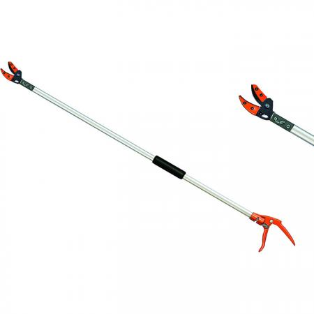 60inch (1500mm) Fixed Length Long Reach Tree Pruner - Soteck tree pruner pruning branches up to 9mm in diameter