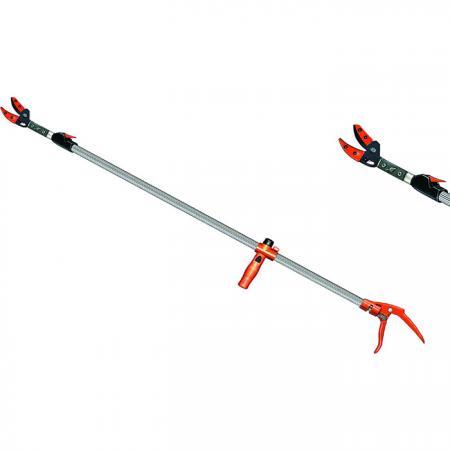 Træbeskærer med lang rækkevidde med seks justerbare indstillinger - Soteck træbeskærer med en forlængelig lang arm