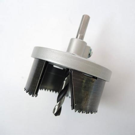 3PC Hole Saw Set - Hole Saws for drilling holes in wood and plastic.