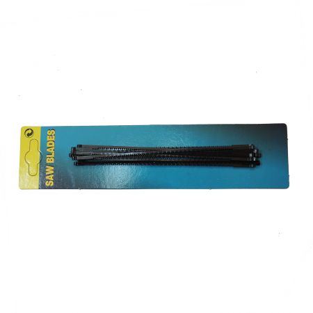 12PC 6inch (150mm) Coping Saw Blades - 150mm Coping Saw blades for cutting curved lines in wood.