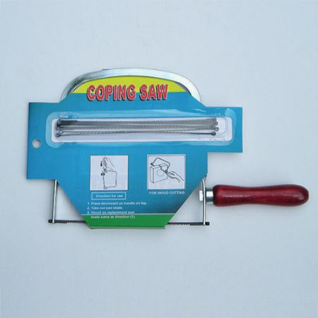 5.5inch (140mm) Deep Coping Saw - Coping Saw best for cutting curves shapes in wood.