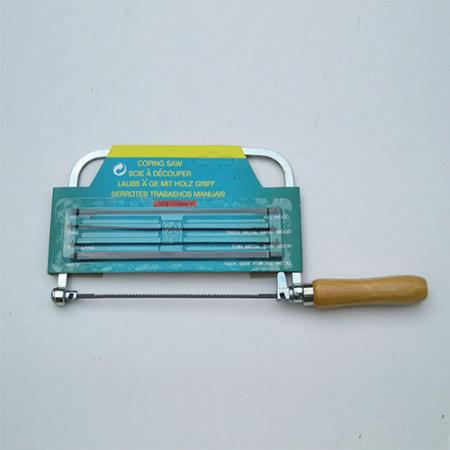 5inch (125mm) Deep Coping Saw with 4 Spare Blades - Coping Saw with 4 spare blades.
