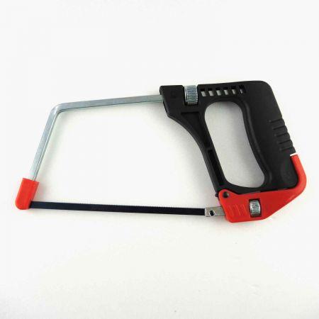 Sierra para metales junior de 6 pulgadas (150 mm) con función de liberación rápida - Marco de sierra para metales junior con mecanismo de liberación rápida de la hoja.