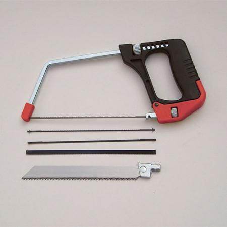 5-in-1 Multi-Function Junior Hacksaw - 5-in-1 Multi-Function Junior Hacksaw with quick blade release function.