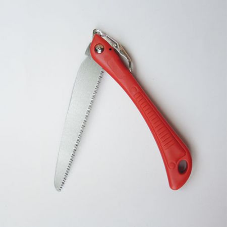 7.5inch (190mm) Folding Pruning Saw with PP Handle - Soteck tree pruning folding hand saw with single-component handle