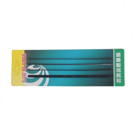 4PC 6,5 polegadas (165 mm) lâminas de serra de coping