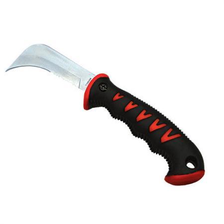 9inch (225 mm) værktøjskniv - Soteck haveværktøjskniven med fin og serreret forkant