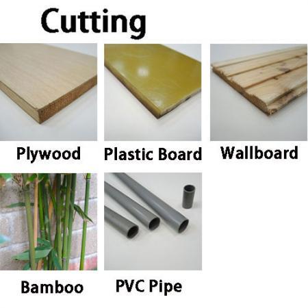 Japansk sav til skæring af træ, bambus, PVC-rør