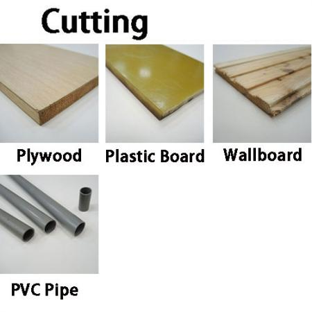 Soteck-sav til skæring af træ og plastmaterialer