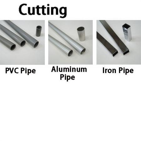 High Tension Hacksaw for cutting pvc pipe, aluminum tube, iron pipe.