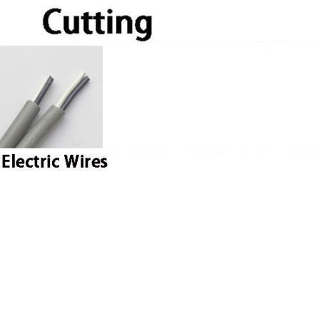Cuchilla para quitar la cubierta del cable y el aislamiento del cable.