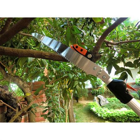 Soteck tree pruner mounted with one pruning saw blade