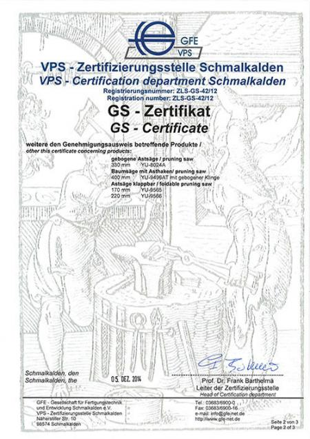 VPS GS Certificate - Part2