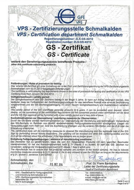 VPS GS Certificate - Part3