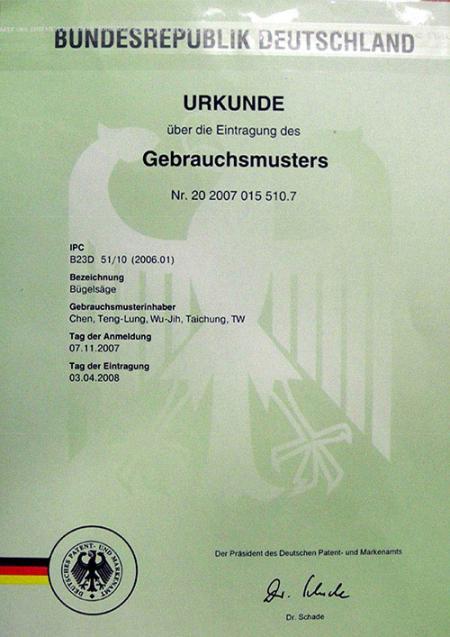 Tyskland patent