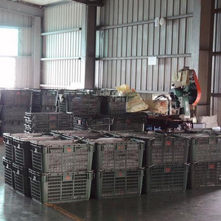 Zone de préparation des matériaux