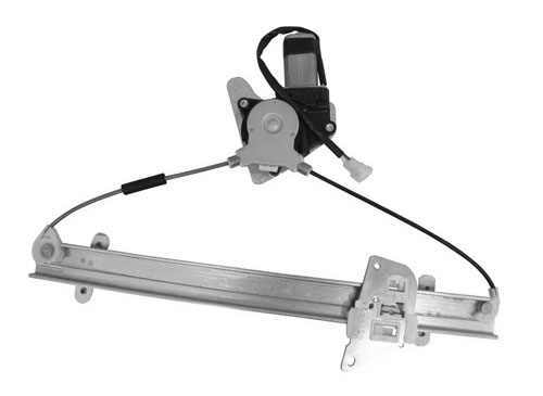 Høy kvalitet Front Power Window Regulator med Motor Høyre for Mitsubishi Galant 1999-2003