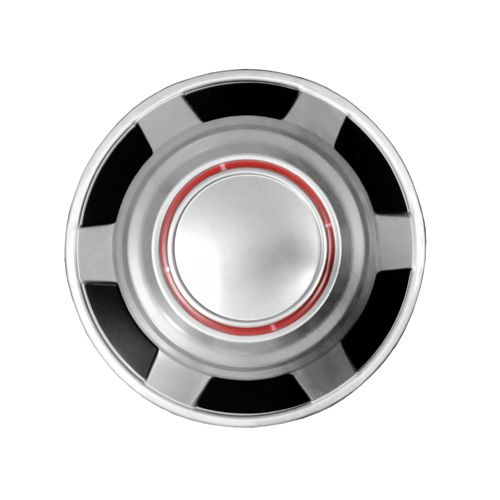 "12"" Red Knockoff Hub Center Wheel Cap for GMC"