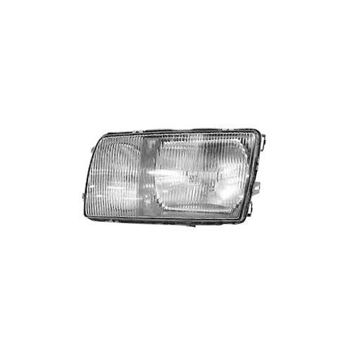 Automotive Headlight, Left 1980-91 Mercedes W126 S-Class