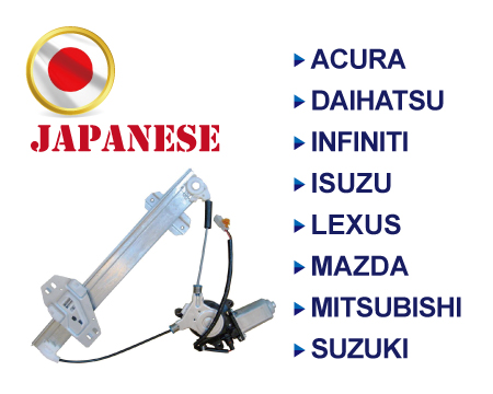 Japanese Brands Window Regulator